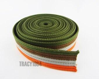 3.8cm wide Polyester Cotton Webbing Strap