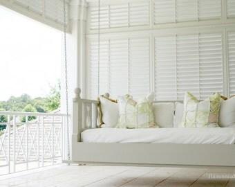 Twin sized Swing bed Porch swing