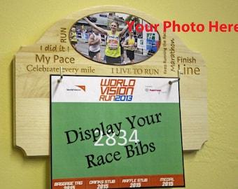 Race Bib Display - Custom