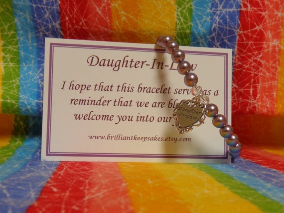 Wedding Gifts For Daughter In Law : Pearl Daughter In Law Wedding Gift Keepsake by BrilliantKeepsakes