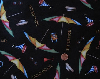 Umbrella fabric print - half yard x 1