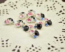 10pcs 3D Nail Art stickers Rhinestones DIY Handmade Crafts & Nails Decoration