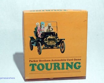 Touring Automobile Card Game from Parker Brothers 1965 COMPLETE (read description)