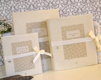 Three set to the wedding photo album, root & guestbook