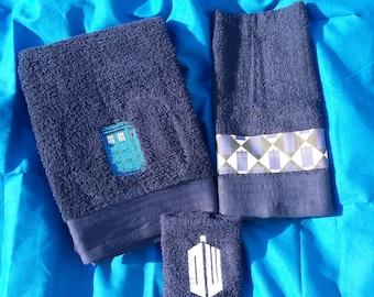 Doctor Who Full Bath Towel Set
