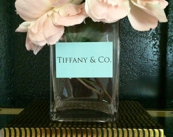 Tiffany and Co. Inspired Vase