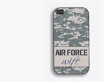 Air Force Wife Gifts - Airforce Wife Phone Case - Milso Gift - Airforce Spouse  iPhone 4/4s/5/5s/5c/6/6s/6+, Galaxy S3/s4/s5/s6, ipod 4/5/6
