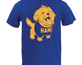 UGP - Sconnie - Hank The Dog Tee - Unisex T Shirt - Royal
