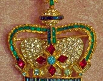 Unsigned Coro - Jubilee Brooch