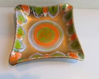 Sascha Brastoff Mid Century Modern Pottery Dish Ashtray