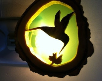 Hummingbird nightlights S,L