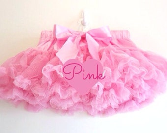 Deluxe Extra Full and Fluffy Chiffon Petti Skits TuTus All Colors and sizes