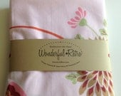 Wonderfully Retro Pair of Butterfly Pillowcases by Royal Family Cannon