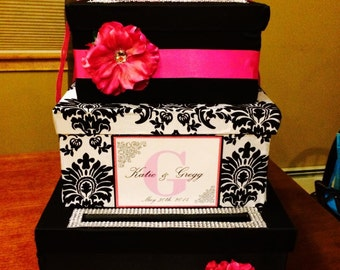 Three tier Wedding Giftcard Box Tower