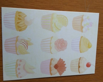 Yummy Cake Postcard-2  Cards
