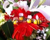 Bees earings