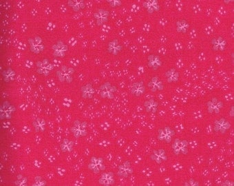 Quilt / Quilting Fabric Calico Tonal Hot Pink By The Yard Quality Cotton