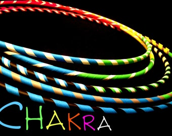 Chakra Practice Hula Hoop by Colorado Hula Hoops
