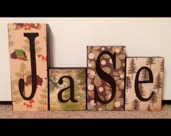 Children's Name Blocks (3-5) Letters