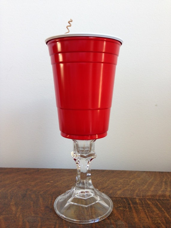 Items Similar To Redneck Stemware Single Red Solo Cup