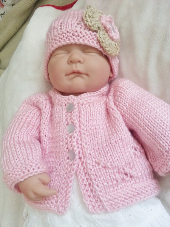 Baby Girl Knitted Sweater Set 87