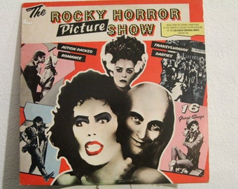 The Rocky Horror Picture Show vinyl record