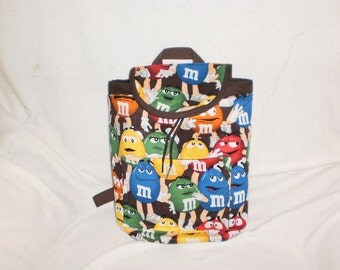 M & M  purse/backpack