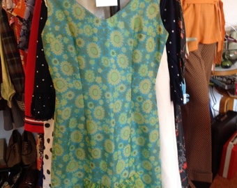 Vintage 1960's Wiggle Dress