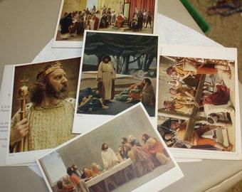 Vintage Oberammergau 1930 Passion Play 10 Postcards Serie F. I Anton Lang RARE Bavaria Germany