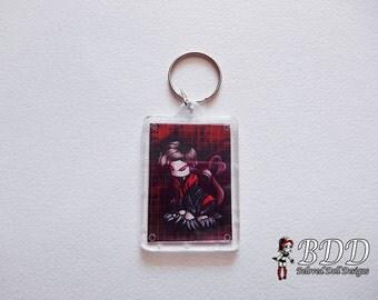 Chibi Void Vampire Anime Keychain Photo #532