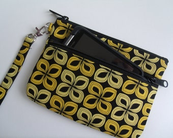 IPhone Wallet Wristlet.Cell Phone wallet wristlet. Errand runner.IPhone 6. IPhone 6s plus