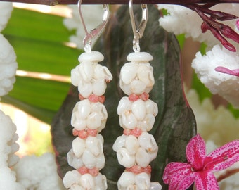 Niihau Momi & Kahelelani Shell Earrings
