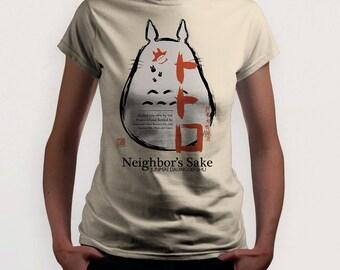 Neighbor's Sake (Totoro t-shirt)