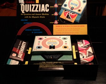 Vintage Quizziac 1960 Board Game