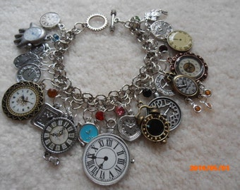 TIME is OF the ESSENCE Charm Bracelet