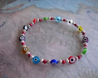 Evil eye (protection) bracelet