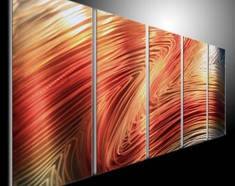 Metal Wall Art Abstract Decor Contemporary Modern Sculpture Hanging metal sculpture wall art metal painting