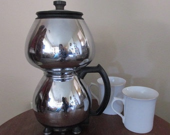 Vintage Sunbeam Double Bubble Electric Coffee Pot