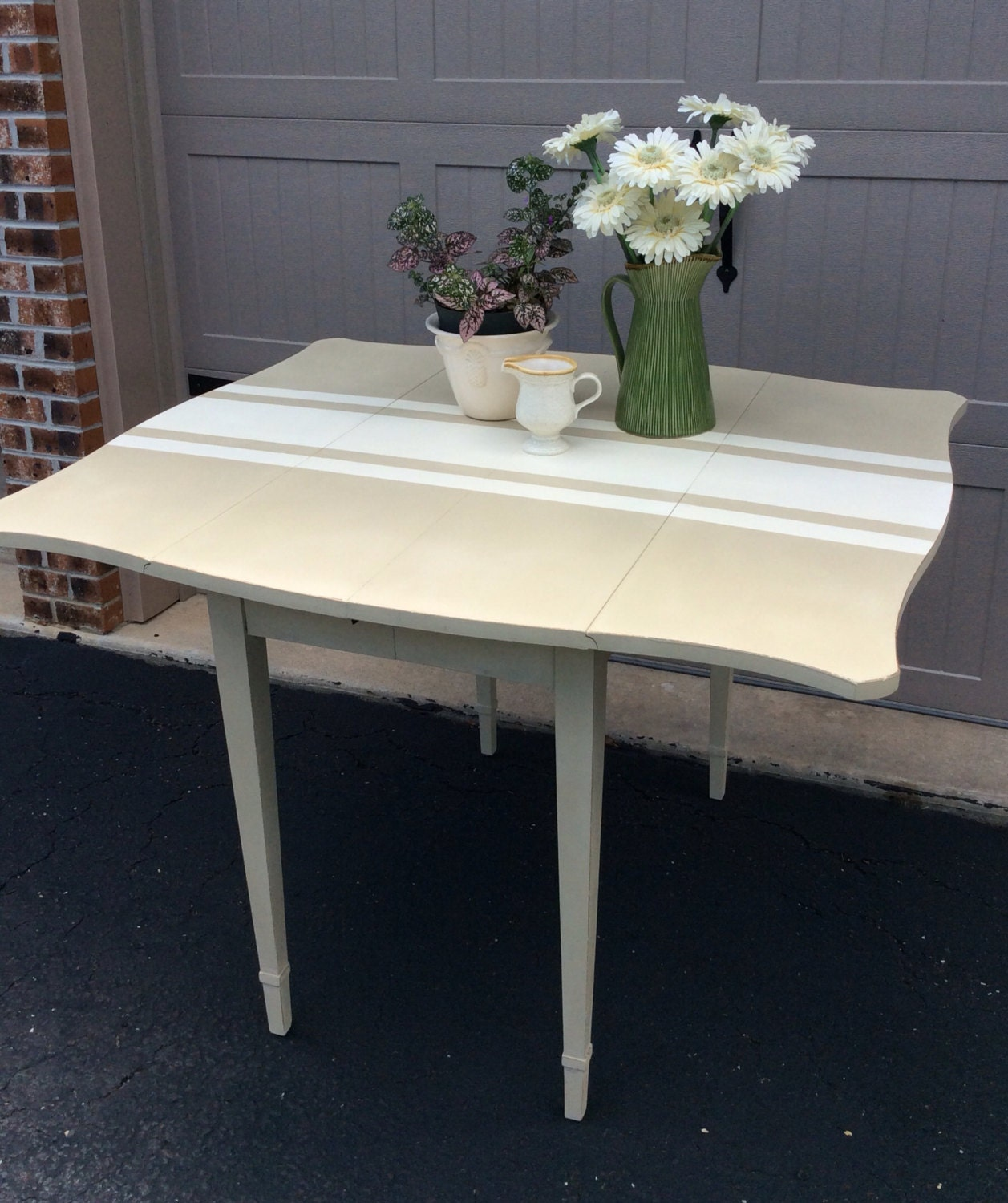 Sold Kitchen Drop Leaf Table Sideboard By Relovedbylori