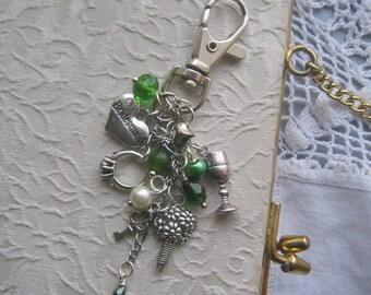 Bridesmaid Keyring / Keychain Handmade, Unique.