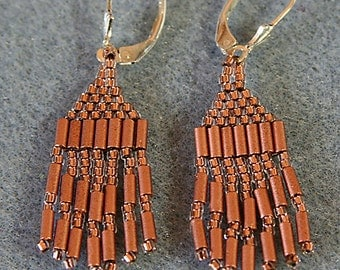 Copper Collection Earrings 1