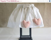ON SALE Shabby Chic Lampshade, Adjustable Lampshade Cover, White Romantic Lampshade, ready to ship
