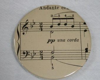 Tchaikovsky sheet music magnet