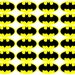 batman inspired stickers .5 - 2 inches wide