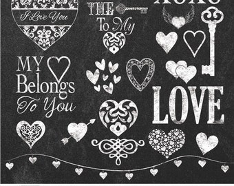 Chalkboards Chalk Hearts Chalk Love Chalk Keys Chalk Word Art