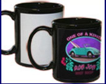 Custom Black Mug 11 oz.