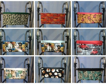 Handmade Walker/Wheelchair/Stroller/Grocery Cart Bag - Miscellaneous