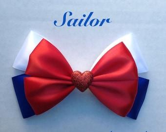 sailor  hair bow