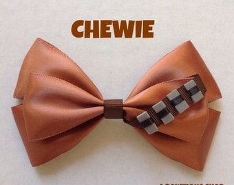chewie hair bow