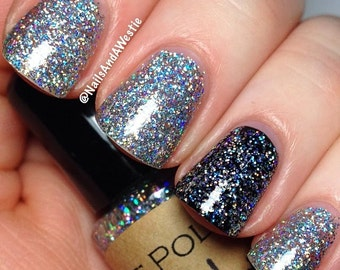 BIRTHDAY PARTY SUPER Holographic nail polish  7ml